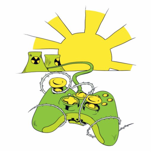 toxic video game pad controller cut out