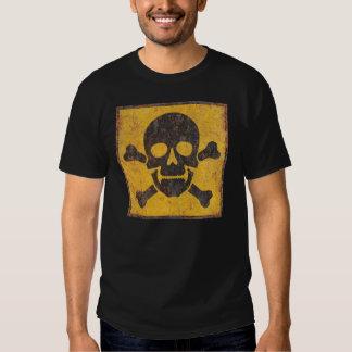 Toxic Warning Sign Tee Shirt