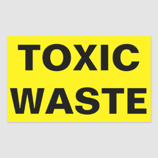 toxic waste sign - 307×307