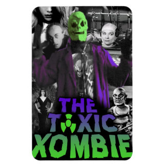 Toxic Xombie collage magnet