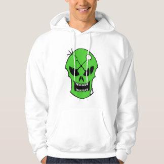 Toxic Xombie Green Skull Hoodie