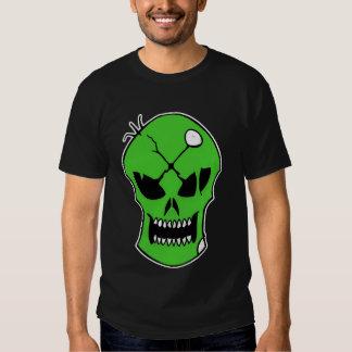 Toxic Xombie Green Skull tee