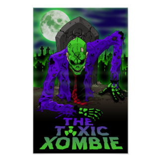Toxic Xombie Pin Up Poster
