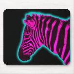 Toxic Zebra Mouse Pad