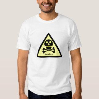 Toxic Zone Sign Tee Shirt