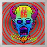 TÓXICO 86 - Poster del diablo 86