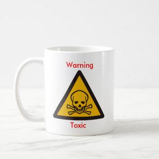 tóxico amonestador taza