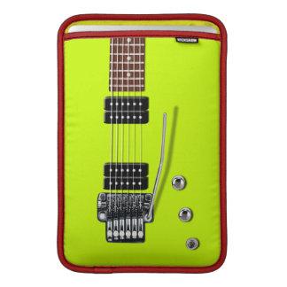 Tóxico de la guitarra eléctrica fundas para macbook air