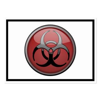 Tóxico del BioHazard Plantilla De Tarjeta De Negocio