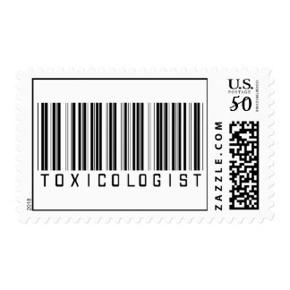 Toxicologist Barcode Postage
