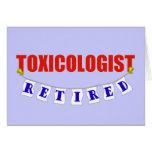 Toxicólogo jubilado felicitaciones