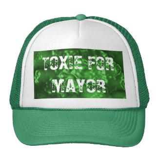TOXIE FOR MAYOR TRUCKER HAT