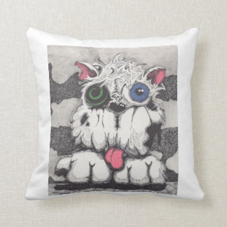 Toxie the Zombie Dog Pillow