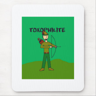 toxophilite mouse pad