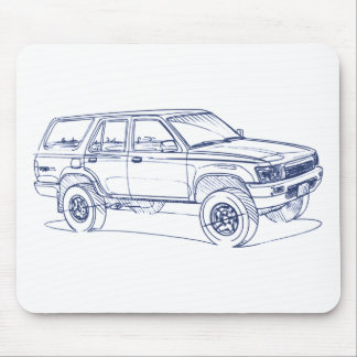Toy 4Runner Gen2 1990 Mouse Pad