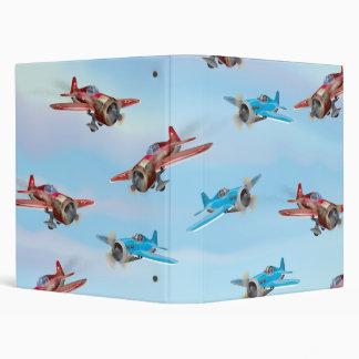 Toy Airplanes Binders