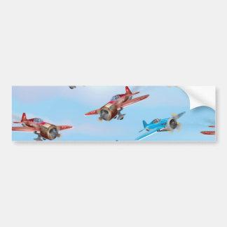 Toy Airplanes Bumper Sticker