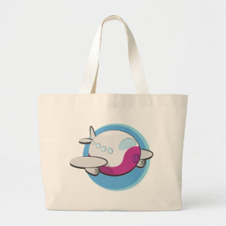 Toy Airplanes Large Tote Bag