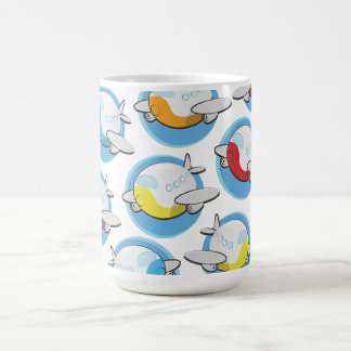 Toy Airplanes Coffee Mugs