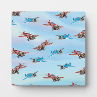 Toy Airplanes Plaque