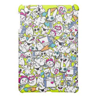 toy_art_bunny_stamp_II_by_mariliawonka Case For The iPad Mini