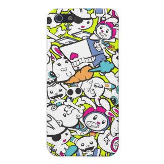 toy_art_bunny_stamp_II_by_mariliawonka iPhone 5 Funda
