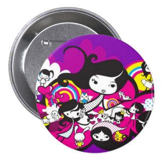 Toy_art_by_mariliawonka Pin Redondo De 3 Pulgadas