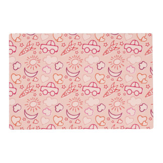 toy background placemat