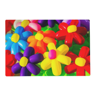 Toy Balloon Flowers Placemat