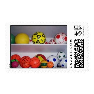Toy_Basketball_and_Football Postage