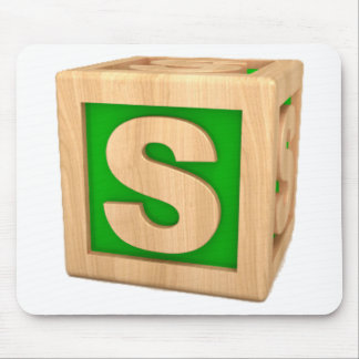 Toy Block S Mouse Pad