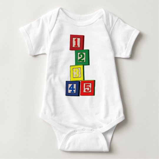 Toy Blocks Baby Bodysuit