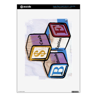 Toy Blocks Decal For iPad 3