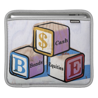 Toy Blocks Sleeves For iPads