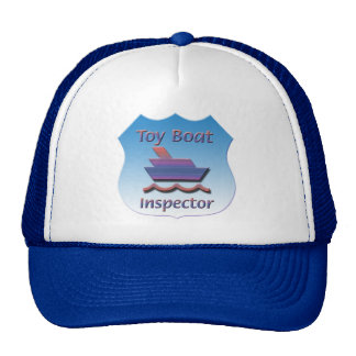 Toy Boat Inspector Badge Trucker Hat