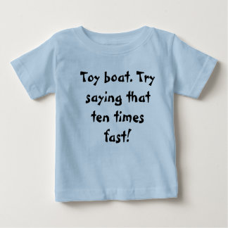 Toy Boat Tongue Twister Shirt