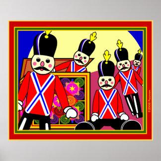 Toy Box Parade Print