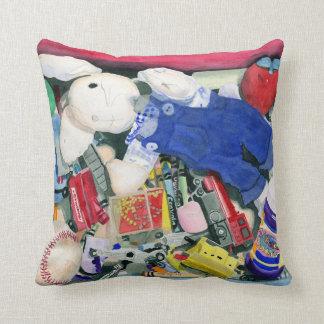 Toy Box Pillow