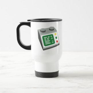 Toy Brick Computer Console Travel Mug