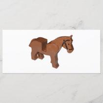 Toy Brick Horse