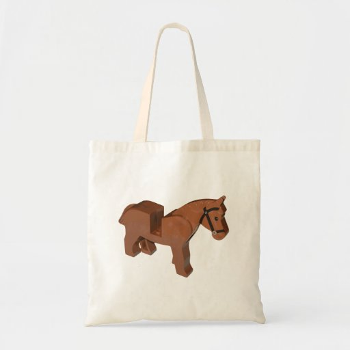 Toy Brick Horse Bags