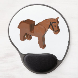 Toy Brick Horse Gel Mouse Pad