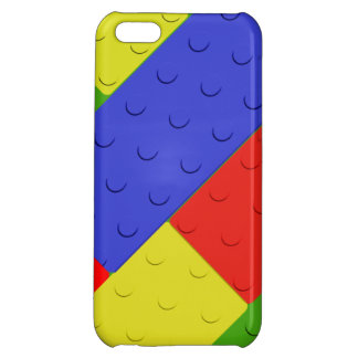 Toy Building Blocks Primary Colors Case For iPhone 5C
