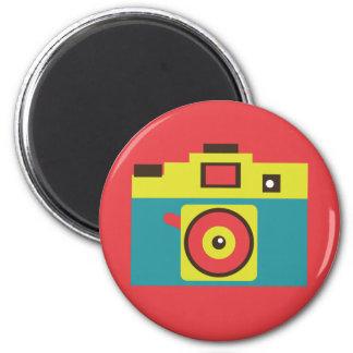 Toy Camera (CMYK) Magnet Fridge Magnets
