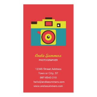 Toy Camera (CMYK) Photographer Biz Card Business Card