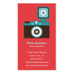 Toy Camera (Diana) Photographer Biz Card Double-Sided Standard Business Cards (Pack Of 100)