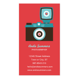 Toy Camera (Diana) Photographer Biz Card Business Card