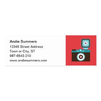 Toy Camera (Diana) Profile Card Mini Business Card