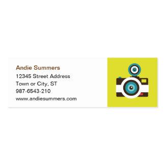 Toy Camera (Fisheye) Profile Card Mini Business Card