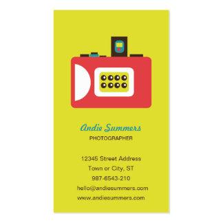 Toy Camera (Super S) Photographer Biz Card Business Card